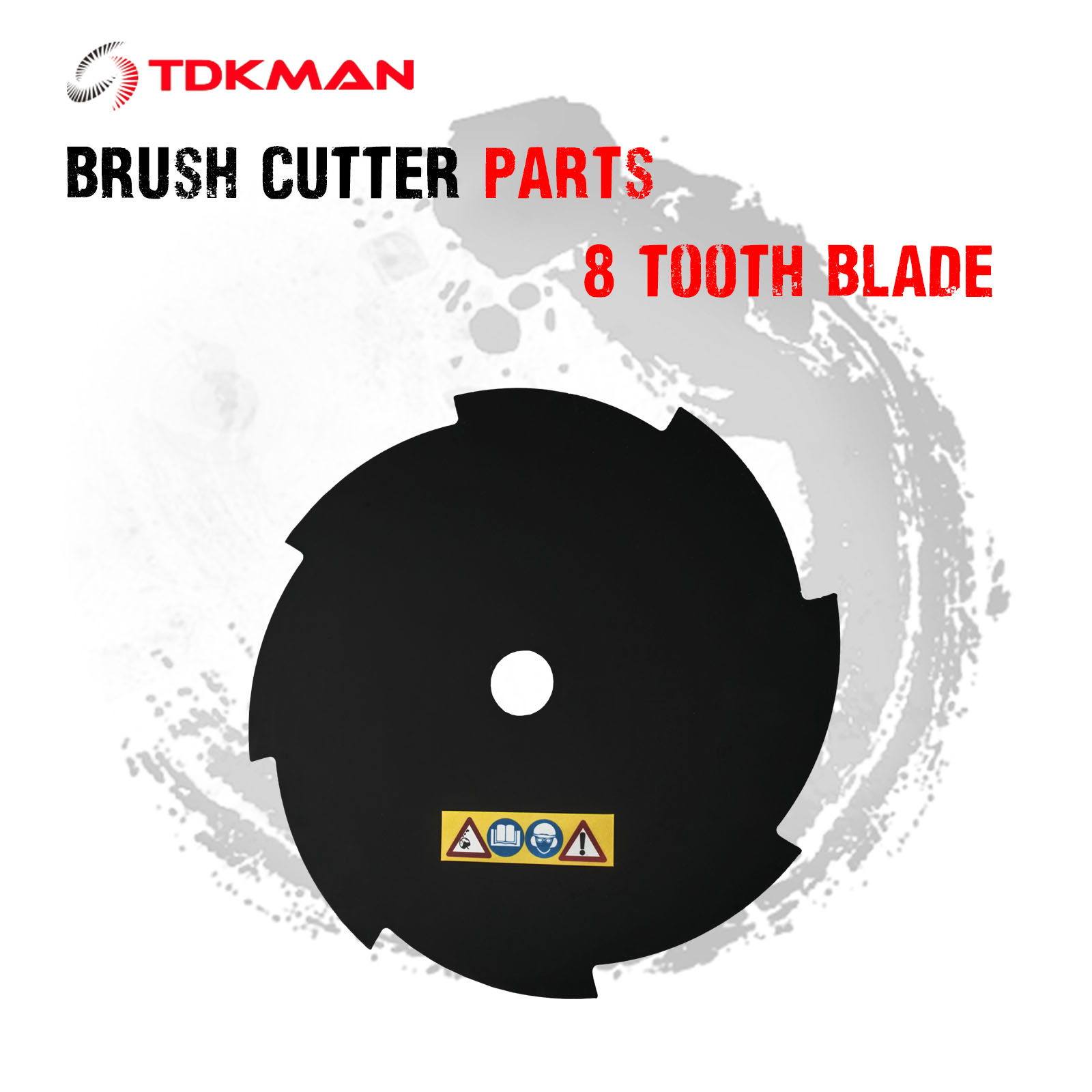 Brush Cutter Brushcutter Cutting 2 Tooth Blade Replacement