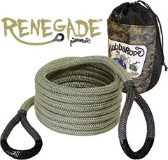 "3/4"" x 20' Renegade Recovery Rope,Breaking Strength: 19,000 lbs."