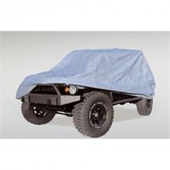 Full Car Cover Wrangler JKU/JLU 4D 2007-2018 3 Layer Rugged Ridge