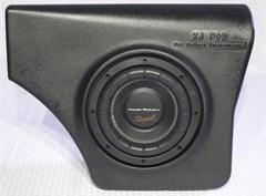 """XJ-Pod Sound System with Power Acoustik 8"""" Sub Cherokee XJ 1984-2001"""