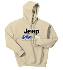 """It's a Jeep Thing"" Sweatshirt, Light Tan"