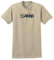 All Things Jeep New Color Logo- Adult T-Shirt