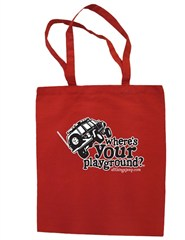 """""""Where's Your Playground?"""" Cherokee XJ Canvas Tote"""
