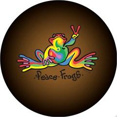Retro Frog Design - 6 Inch Fog Light Covers (Pair)