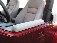 Arm Rest Half Doors, Top Mount Spice Denim, Jeep Wrangler 87-06