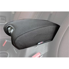 Neoprene Arm Rest Pad Cover Wrangler JK 2011-2018 Black Rugged Ridge