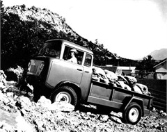 Jeep Poster/Print 1957 Willys Jeep FC-170 Long Wheel Base 4x4 Pickup