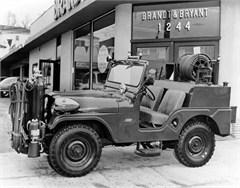 Jeep Poster/Print 1960 Willys Jeep CJ-5 Fire Truck