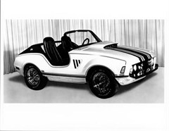 Jeep Poster/Print 1970 Jeep XJ001 Concept (3/4 Front View)