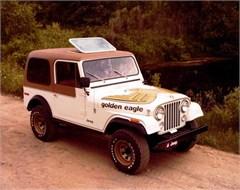 Jeep Poster/Print 1979 AMC Jeep CJ7 Golden Eagle