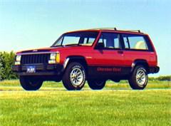 Jeep Poster/Print 1984 AMC Jeep Cherokee Chief XJ 2 Door