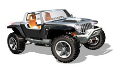 Jeep Poster/Print Jeep Hurricane Concept Art