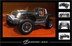 "Jeep Hurricane Concept ""5 Views"" Art Poster"
