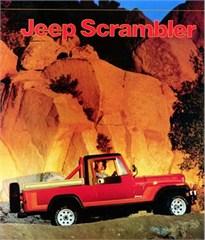 Jeep Poster/Print 1981 AMC Jeep CJ8 Scrambler Ad