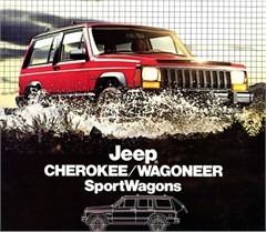 Jeep Poster/Print 1984 AMC Jeep 2 dr Cherokee/Wagoneer XJ Ad