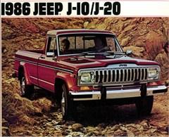 Jeep Poster/Print 1986 AMC Jeep J-10/J-20 Ad