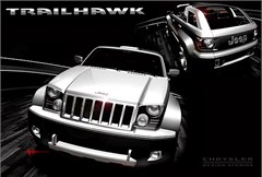 Jeep Trailhawk Concept Car Poster/Print