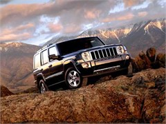 Jeep Poster/Print 2007 Jeep Commander Overland (Sunset in Mountains)