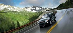 Jeep Poster/Print 2007 Jeep Grand Cherokee Limited (Mountain Road)