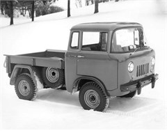 Jeep Magnets, 1956 Willys Jeep JC-150 Pickup