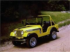 Jeep Magnets, 1974 AMC Jeep CJ5 Renegade
