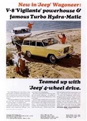 Jeep Magnets, 1965 Jeep Wagoneer Vigilante V8/T.H.M Ad