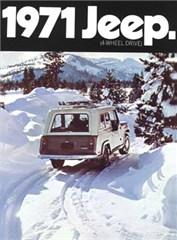 Jeep Magnets, 1971 AMC Jeep Commando Ad