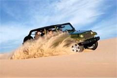 Jeep Magnets, 2007 Jeep JK Wrangler (Dunes!)