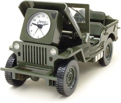 Jeep Action Alarm Clock (WWII Willys Jeep)