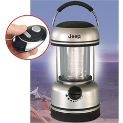 Jeep Portable LED Lantern w/Remote Control