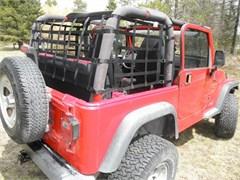 One Piece Wrap-Around Net for Jeep Wrangler TJ and YJ 1992-2006