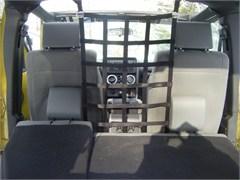 Front Barrier Net for Jeep Wrangler JK 2007-2018