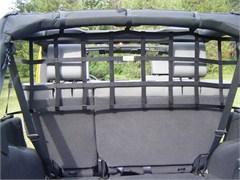 Rear Cargo/Dog Barrier Net for Jeep Wrangler JK 4 Door 2007-2018