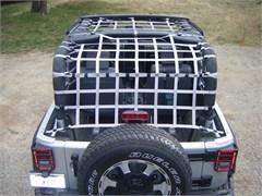 Rear Overhead Net for Jeep Wrangler JK 2 Door 2007-2017