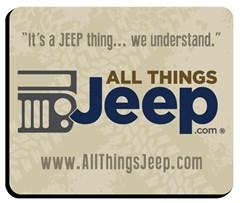 Mousepad - All Things Jeep Logo