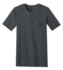 Pocket T-Shirt with All Things Jeep Color Logo