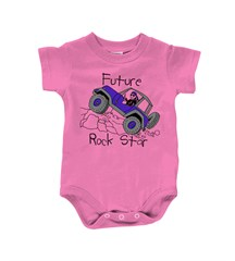 """Baby  """"Future Rock Star"""" Infant Creeper for """"Jeep Babies"""""""