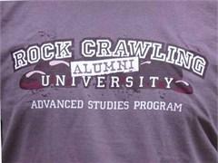 """Rock Crawling University - Alumni"" Off-Road T-Shirt"