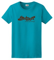 """""""This Dirty Girl Cleans Up Nicely"""" Ladies Short Sleeve Tee"""