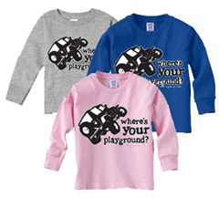 Where's Your Playground? Child's Long Sleeve Tee