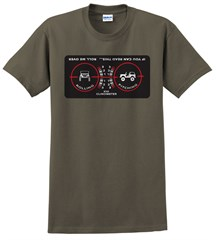 """Clinometer """"Roll Me Over"""" Mens' Tee"""