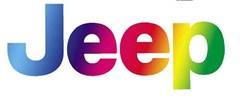 Jeep Logo Decal - Rainbow (1 decal)