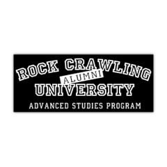 Rock Crawling University Sticker