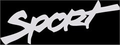 SPORT Hood Replacement Decal for Jeeps,  (1 Decal)