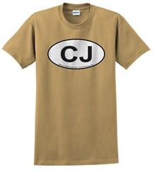 Oval Jeep CJ Logo Men's Tee