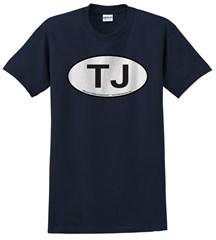 Oval Jeep TJ Logo Men's Tee