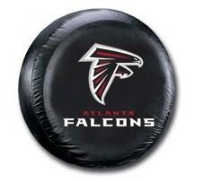 Atlanta Falcons Black Vinyl NFL Tire Cover