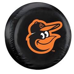Baltimore Orioles MLB Tire Cover - Black Vinyl