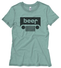 Closeout: Beer Jeep Junior's T-Shirt