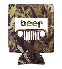 Beer Jeep Logo Neoprene Koozie - Set of 2